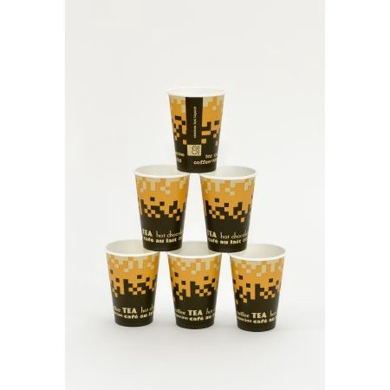 2500 Kartonnen bekers voor o.a. koffie en thee (090.0100)