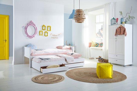 Kinderbed Met Extra Bed.Bol Com Flexworld Kinderbed Jip Met Uitschuifbaar Logeerbed