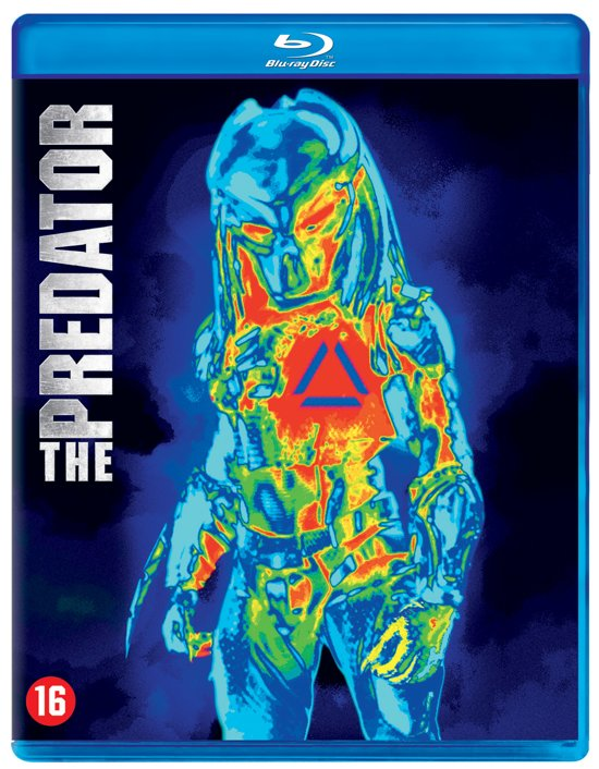 DVD cover van The Predator (Blu-ray)