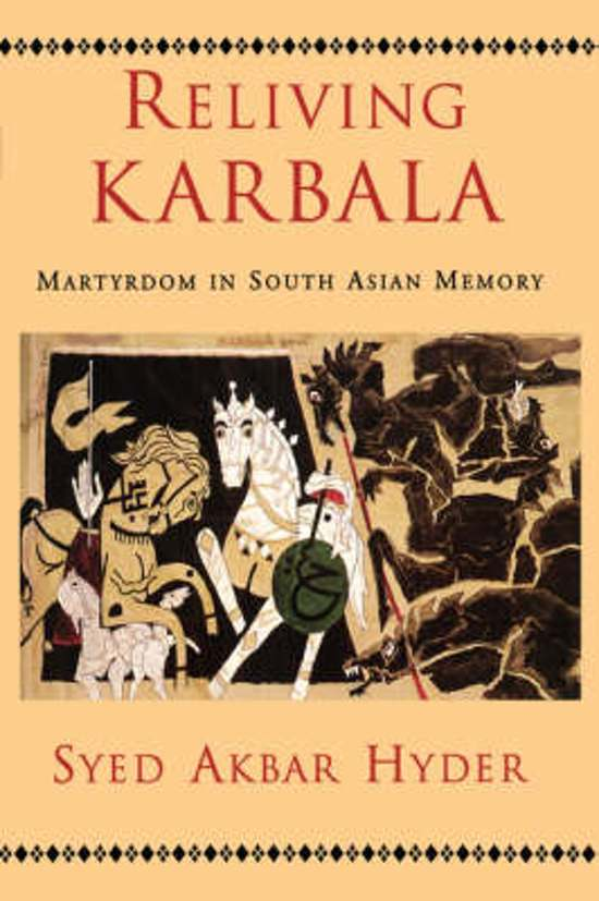 Asian in karbala martyrdom memory reliving south
