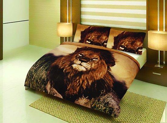 Bol dekbedovertrek leeuw lits jumeaux  cm