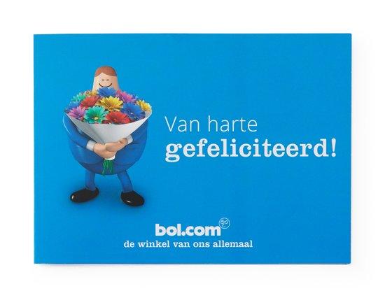 bol.com cadeaukaart - 5 euro - Gefeliciteerd
