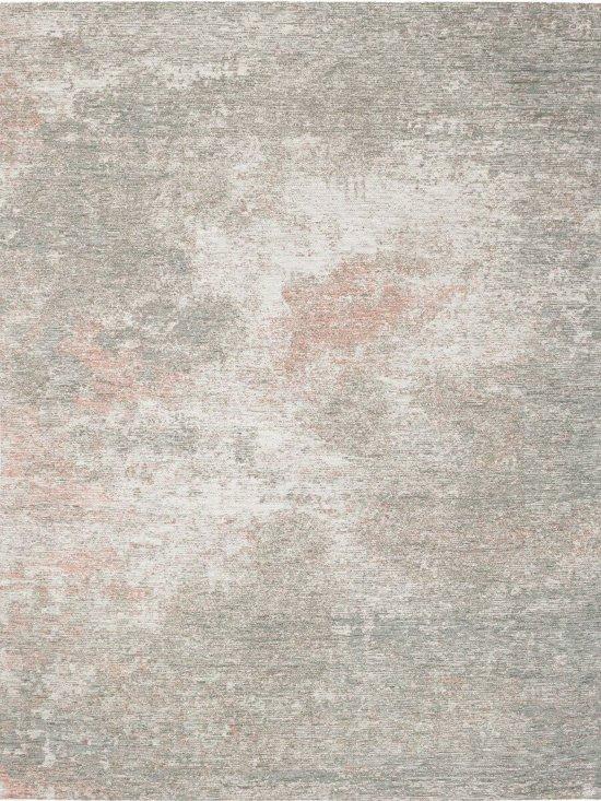 45ff6764f8183b Vintage Tapijt Flow - Grunge Grey Flamingo - 140x200 Grijs Roze Vloerkleed