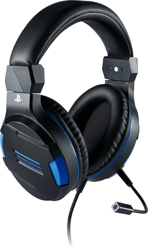 Cover van de game Official Licensed Playstation 4 Stereo Gaming Headset - PS4 - Zwart/Blauw