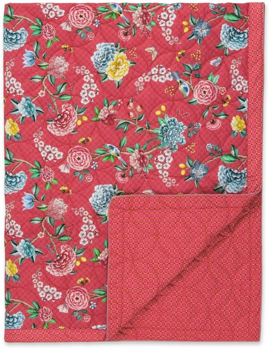 Pip Studio Deken.Bol Com Pip Studio Good Night Quilt Red 180x260