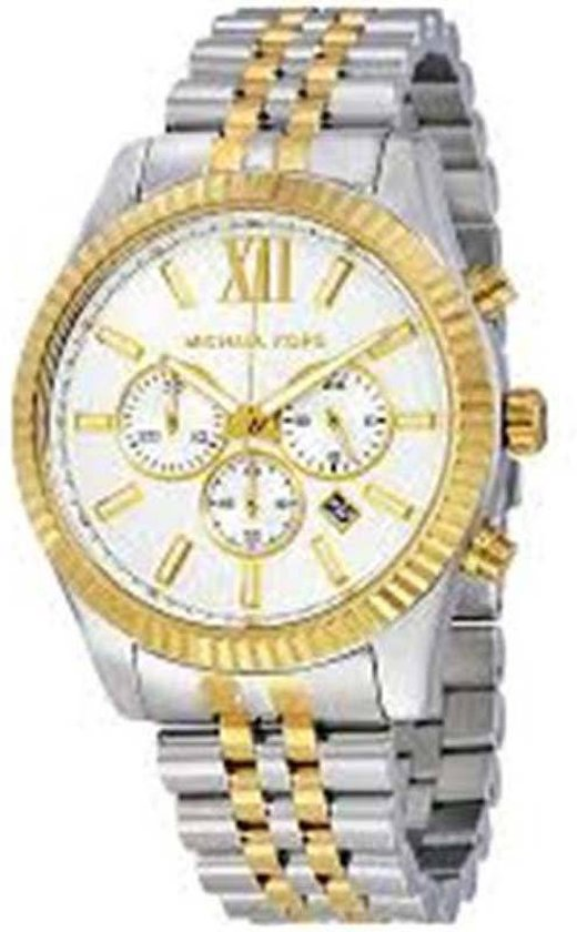ba3e66505ce34 Michael Kors Lexington MK8344 - Horloge - Goudkleurig - Ø 45 mm