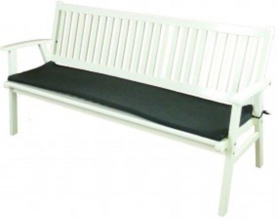 All Weather Kussens : Bol.com tuinbankje comfort deluxe 130 cm wit inclusief all
