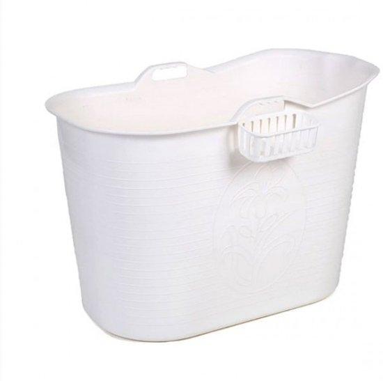 Afbeelding van Zitbad Voor Volwassenen - Bath Bucket - Wit - 200L