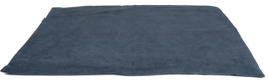MaxxNobel - Bench/Hondenmand kussen - Ribcord - XS - 50 x 35 cm - Blauw