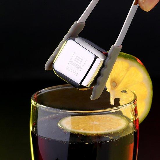 RVS herbruikbare ijsblokjes koelen voor wodka  whisky  likeuren