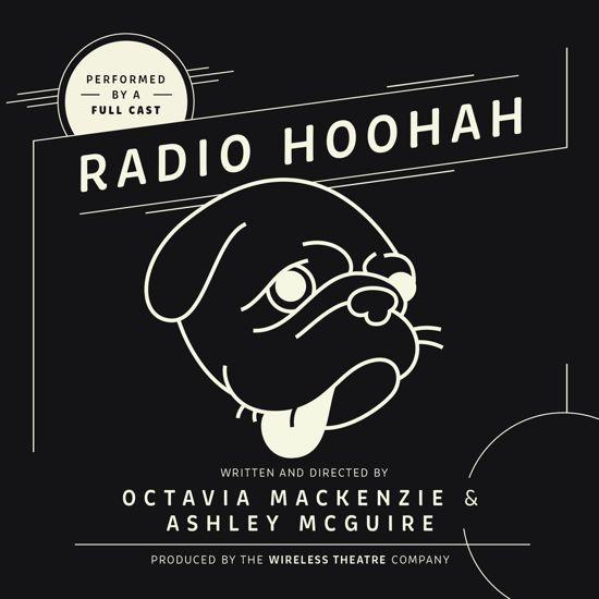Boek cover Radio Hoohah van Octavia Mackenzie (Onbekend)