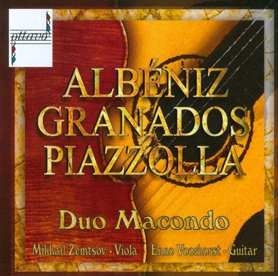Albeniz, Granados, Piazzolla