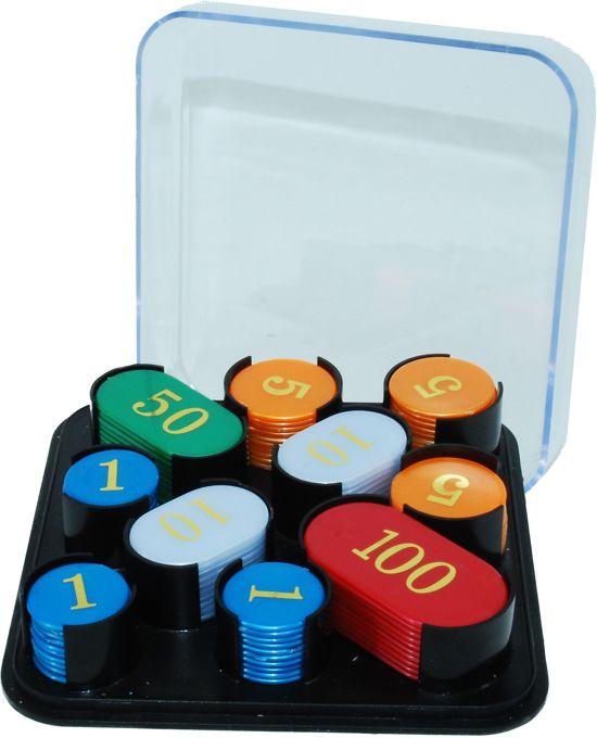 Afbeelding van het spel Roulette Chips 100 Stuks