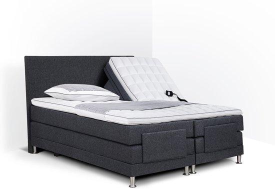 Compleet Bed 180x200.Bol Com Boxspring Flanny Compleet Elektrisch Verstelbaar 180 X