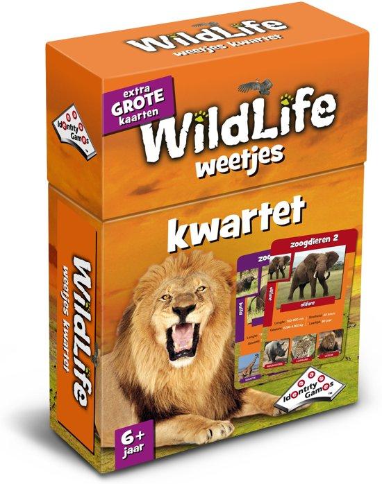 Afbeelding van het spel Wildlife Weetjes Kwartet - Kaartspel