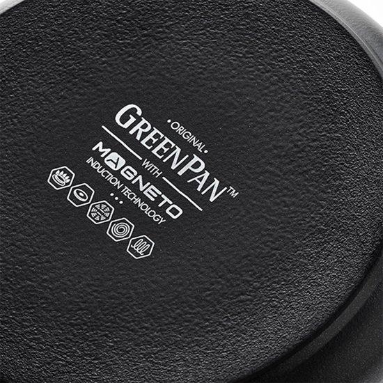 Greenpan Brussels Black Koekenpan à 30 cm