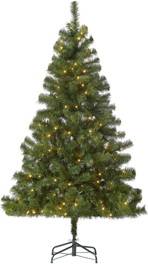kunstkerstboom 210 cm 800 takken inclusief led verlichting