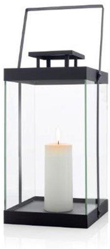 Blomus lantaarn Finca zwart middel 36 cm