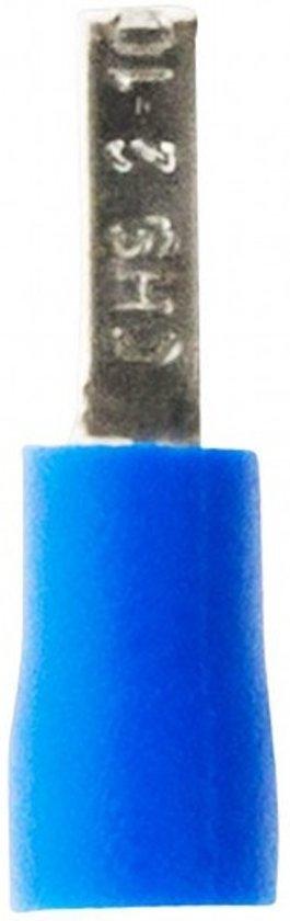 Zenitech Kabelschoentjes Blauw Ø1,22 - 2,28 Mm 10 Stuks