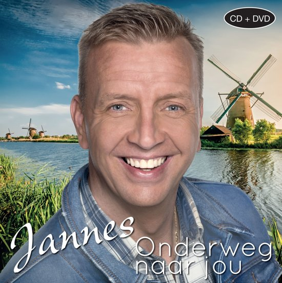 CD cover van Onderweg Naar Jou (CD+DVD) van Jannes