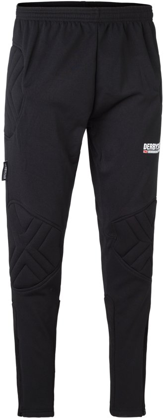 Derbystar Keepersbroek Kai Pro II Junior Sportbroek - Maat 140  - Unisex - zwart