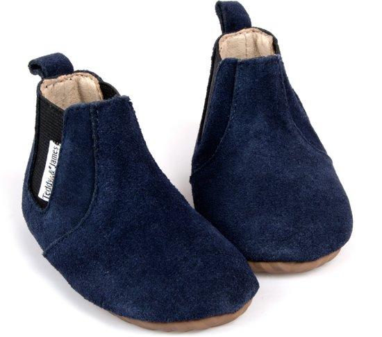 Teddy & James Kinderschoenen Chelsea Booties Donkerblauw