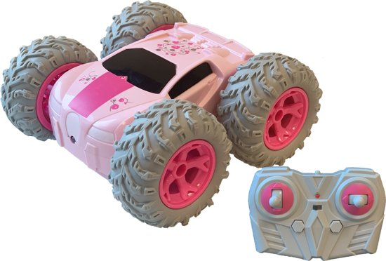 RC 360 Stuntracer roze