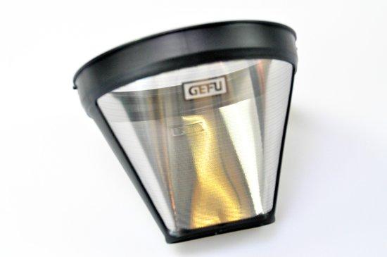 GEFU Permanent koffiefilter - RVS - Zilver