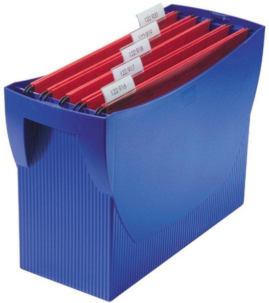 Hangmappenbox HAN Swing zonder deksel blauw
