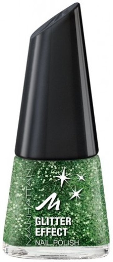 Manhattan - Glitter Effect - Nagellak - Jungle Gem