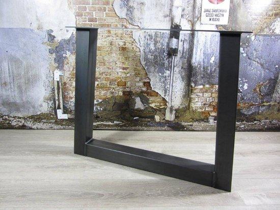 Industrieel Tafel Onderstel : Bol.com handgemaakte industrieel tafelonderstel model u standaard