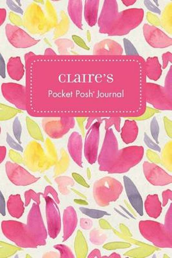 Claire's Pocket Posh Journal, Tulip