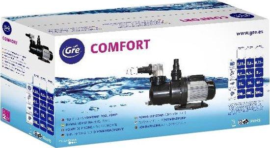 Gre Zwembadpomp Comfort 0,50 Zwart/zilver