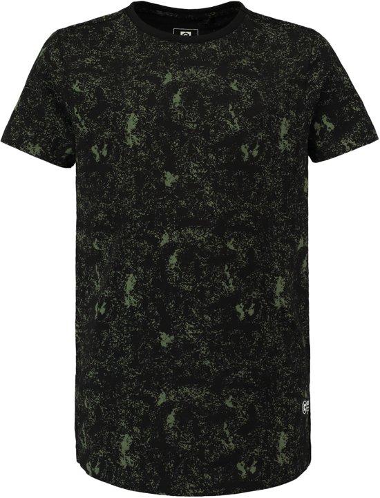 49a33631e16 bol.com | Coolcat Shirt Long length T-shirt met all over print ...