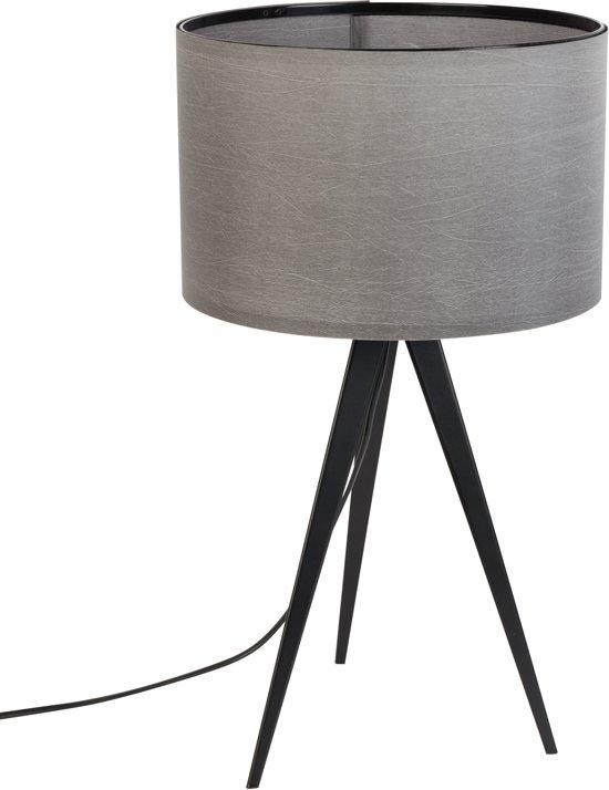 zuiver tripod tafellamp zwart grijs. Black Bedroom Furniture Sets. Home Design Ideas