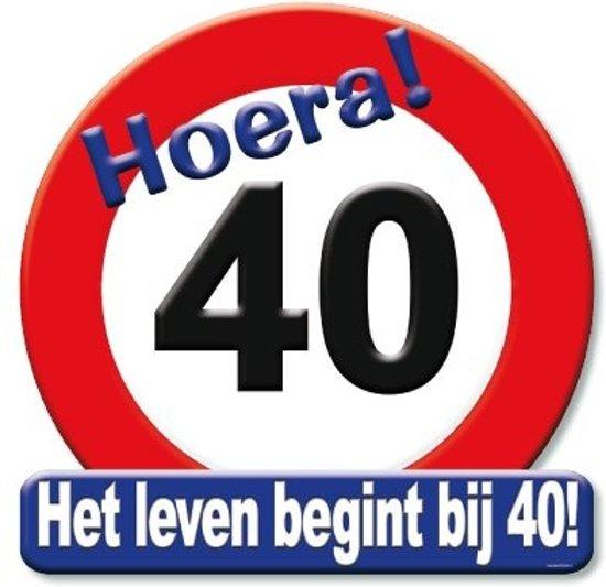 hoera 40 jaar bol.| verkeersbord Hoera 40 jaar, Paper dreams | Speelgoed hoera 40 jaar