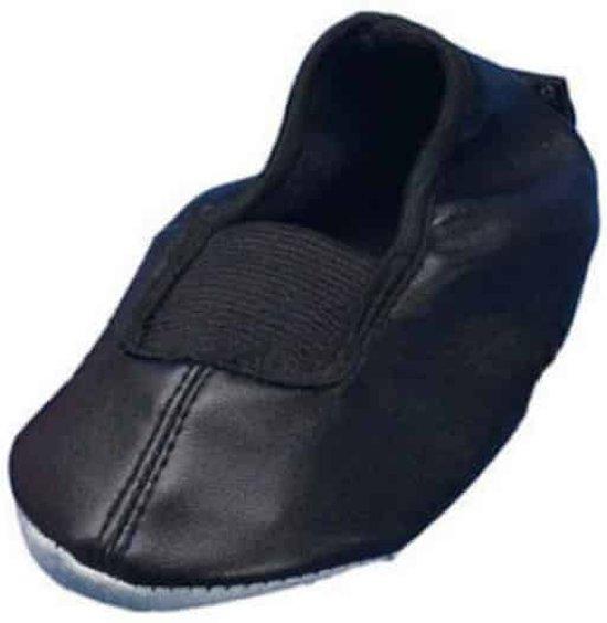 Playshoes balletschoentjes zwart uni Maat: 32-33
