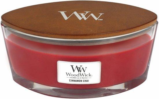WoodWick® Heartwick Flame® Ellipse Cinnamon Chai