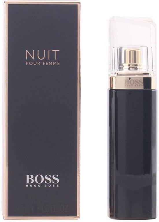 MULTI BUNDEL 2 stuks BOSS NUIT POUR FEMME Eau de Perfume Spray 50 ml