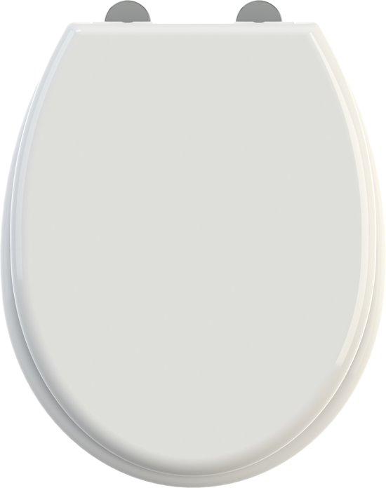 Allibert wc-bril KIDS - thermoplastiek - soft close - wc-brilverkleiner afklikbaar - wit