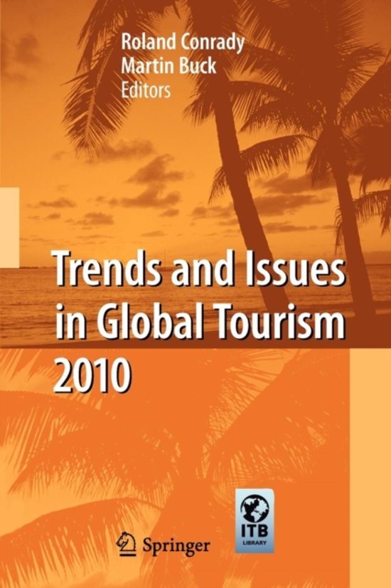 Trends and Issues in Global Tourism 2010
