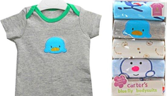 Baby - Geschenkset - Jongens shirt