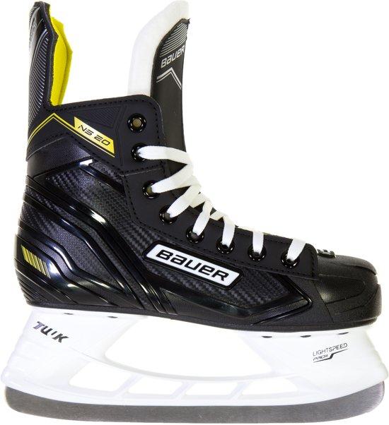 Bauer Schaatsen - Maat 37.5 - Unisex - zwart/geel/wit