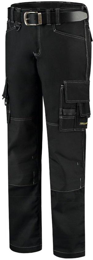 Tricorp worker canvas met cordura - Workwear - 502009 - zwart - maat 52