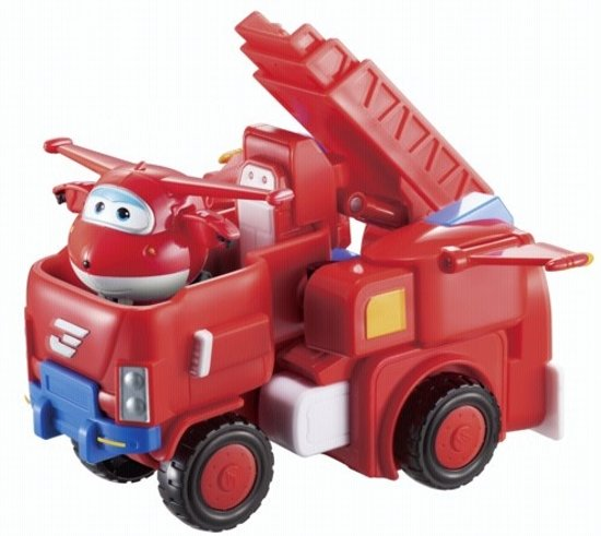 Super Wings Transforming Vehicle Jett
