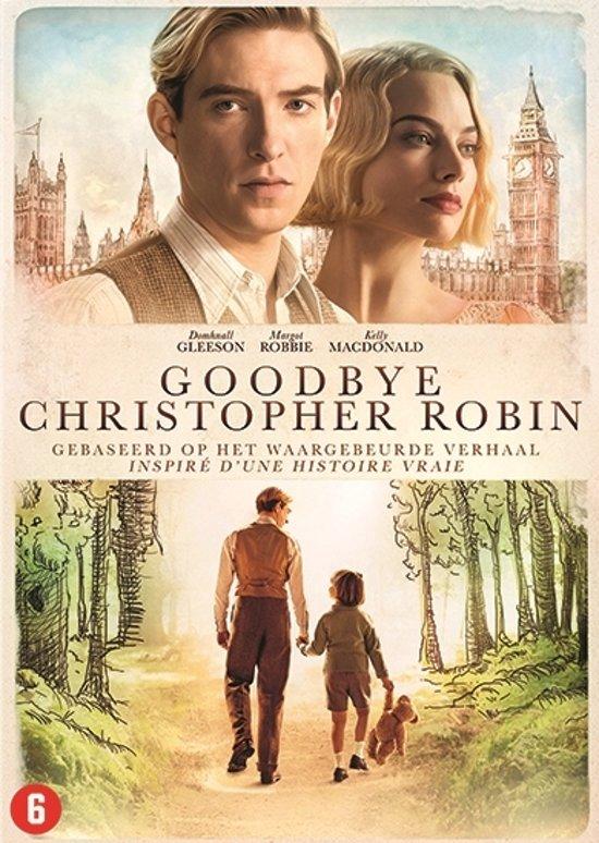 DVD cover van Goodbye Christopher Robin