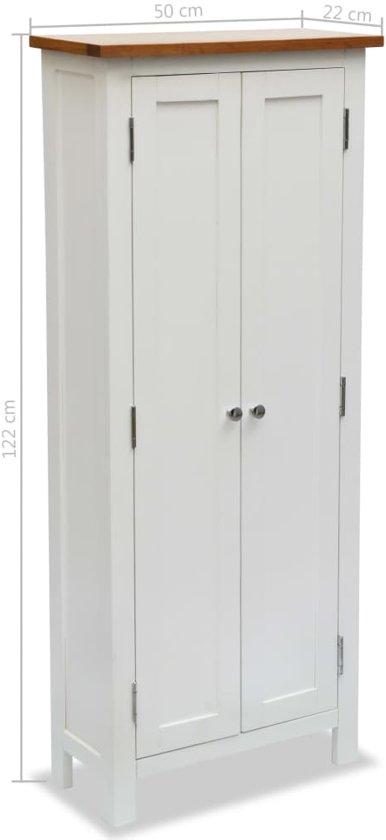 Bolcom Voorraad Kast Met Planken 50x22x122 Cm