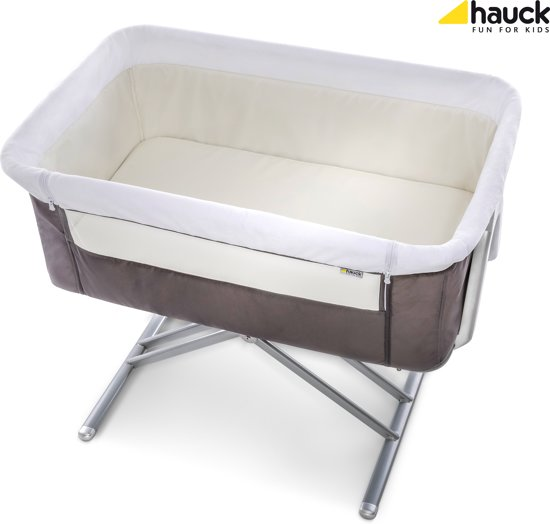 Hauck Face to Me Co-sleeper - Grey
