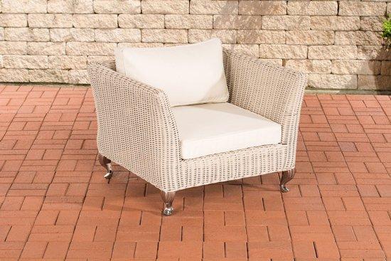 Stoel Rotan Wit : Bol clp moss outdoor stoel mm rond polyrotan rotan