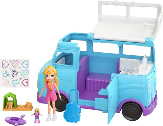 Polly Pocket Camper - Dual Scale